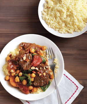 Moroccan-Inspired Beef Stew