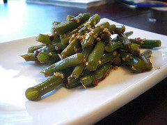 Spicy Sesame Green Beans