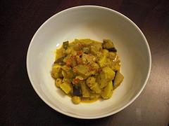 Indian Summer Vegetable Stew