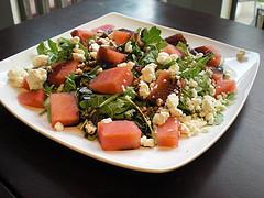 Arugula and Watermelon Salad