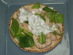 Mediterranean Chicken in a Greek Gyro